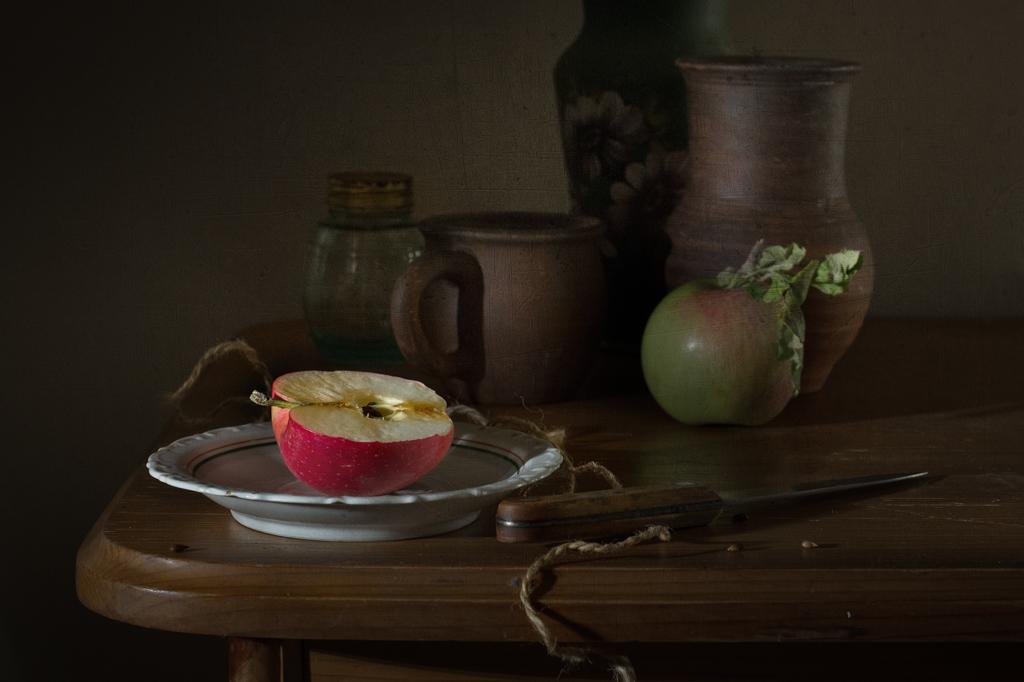Про яблочко наливное