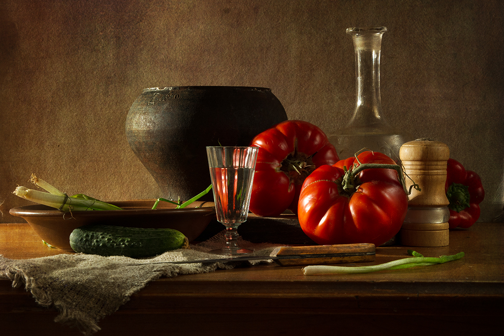 С южными помидорами