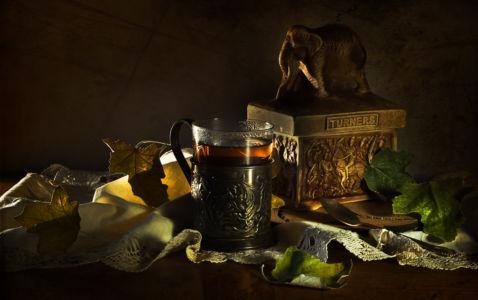 Осенний вечер, индийский чай..