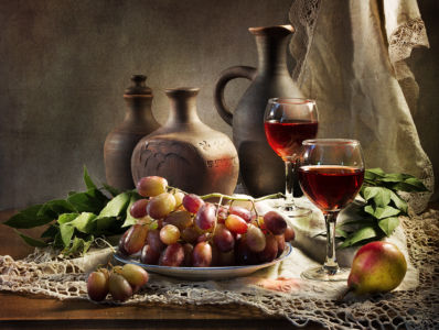 Вино августа