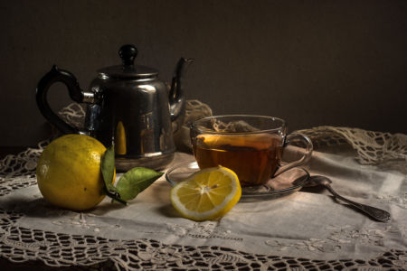 Вечер с ароматом лимона