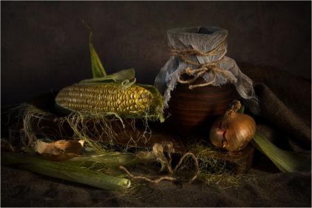С кукурузой